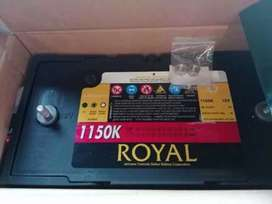 Royal Batteries for Solar system