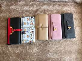 Ladies bags and wallets