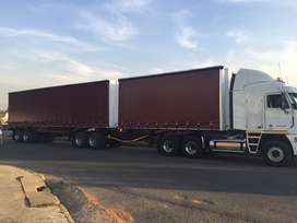 New 6 x 12m Tautliner Superlink trailer