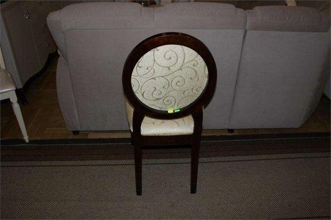 Krzesła krzesło klasyczne JFSC orzech ciemny tkanina ecrue żakard Góra Kalwaria - image 4