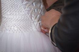 *Suknia ślubna przepiękna, a jednak bardzo prosta!