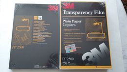 Folia przezroczysta do drukarek, na rzutnik format A4 - NOWA