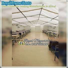 Gdh Field Hospital Tents supplied by Royal Megastore Frame Tents