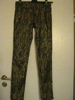Złote spodnie VILA