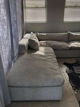 L seater couch
