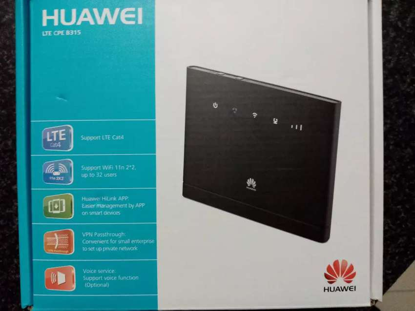 Huawei B315s-936 LTE wireless WiFi router (used) 0