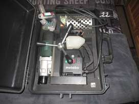 Metabo magnetic drill machine