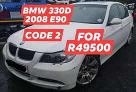 BMW 330D 2008 E90 CODE 2 FOR R49500 EXCL VAT