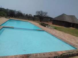 Swimming pools, thatch roofs ,rock art