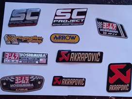 Exhausts Stickers