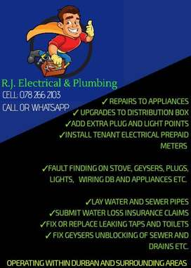Emergency Electrical and Plumbing services