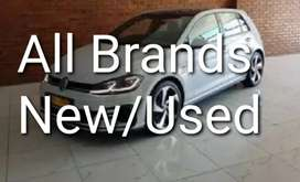 All brands New and Demo/used cars