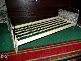 Игрушечная кровать для куклы ,советская,ретро,винтажная,металлическая
