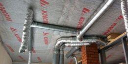 Монтаж систем вентиляции, дымоходы, кондиционирование и другое!