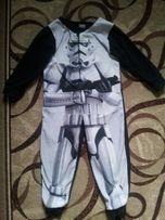флисовая пижама поддева