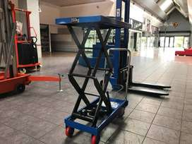 Manual/Electric scissor lift table/lift platform