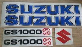 Decal kit for a 1979 GS1000 S motorcycle