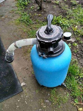 Фильтр для басейна Emaux V350 + насос для фильтрации Saci Optima 25M