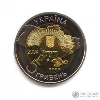 Юбилейная монета 5 гривен 2004 года