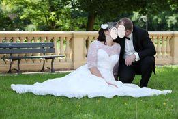 Zjawiskowa suknia ślubna 44-46