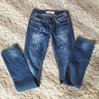 Spodnie z brylancikami