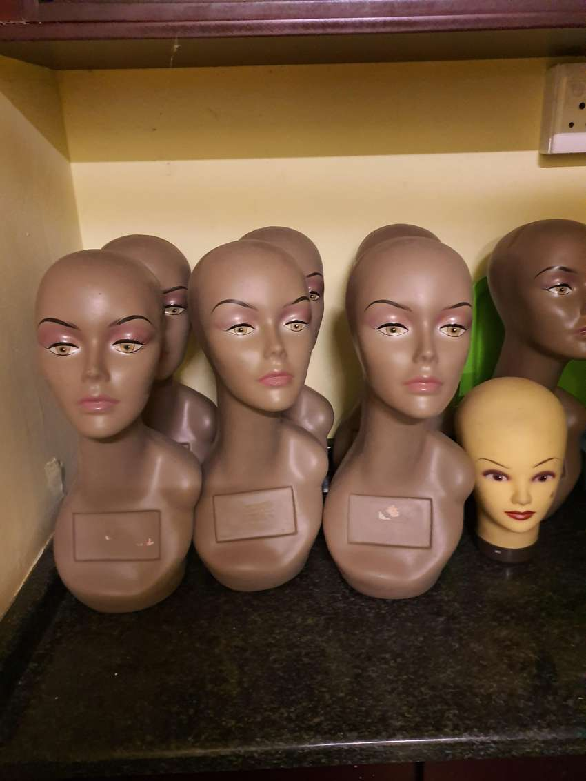 Heads for Hair Pieces