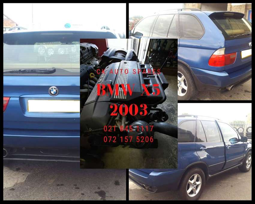 BMW X5 2003 stripping for spares BMW X5 3.0 engine for sale