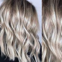 Балаяж, Airtouch Блонд Окрашивание Покраска волос. Парикмахер колорист