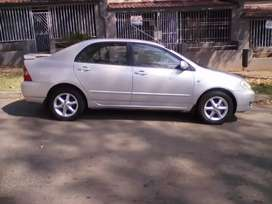 2003 Toyota Corolla, 87,000km, spare key, leather interior, engine1.6