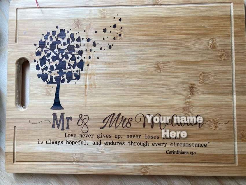 Personalized cutting boards 0