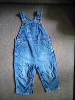 Брендовый джинсовый комбинезон George 12-18 мес./81-86 см