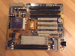Rare Intel 133 plus płyta główna