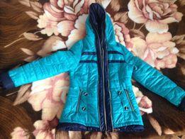 Курточка для девочки сезон теплая зима - холодная весна-осень!