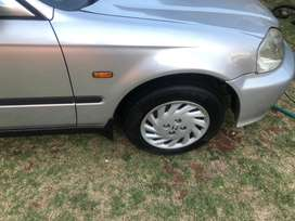 A clean honda ballade for its age, with new tyres, windscreen, stereo,