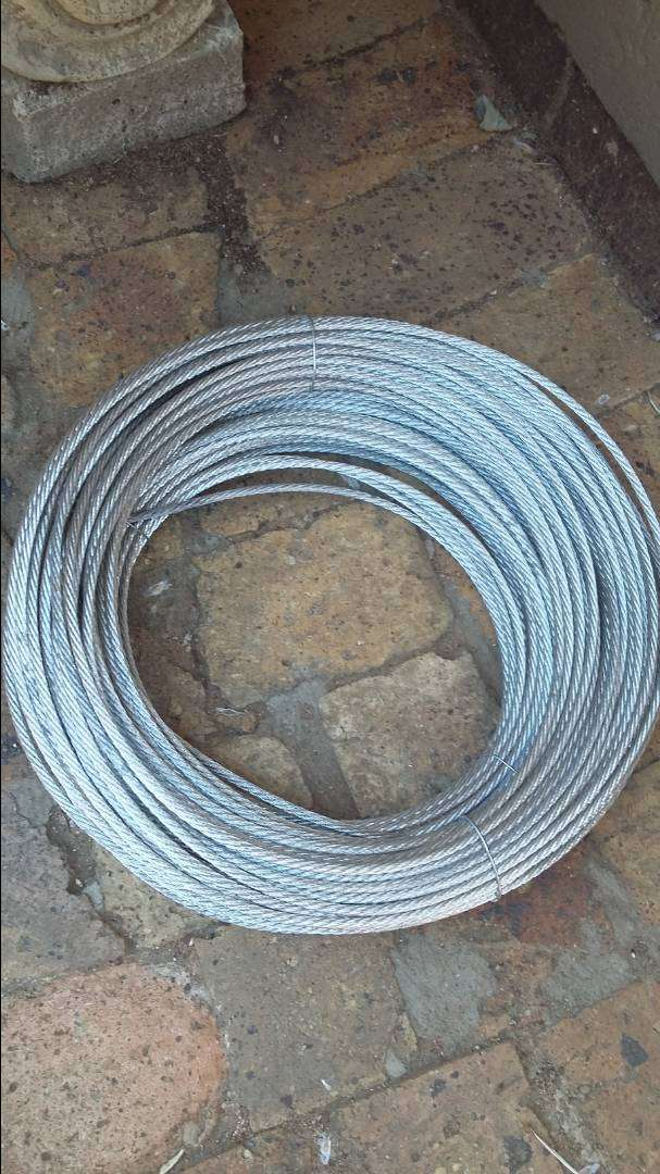 Galv Steel Wire Rope Cable 0