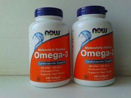 Omega - 3, концентрат рыбьего жира