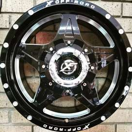 """18"""" XF Offroad Rims in 5x120 Fitment"""