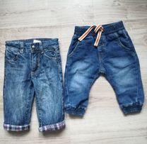 Spodnie dżinsowe KappAhl, Chevignon r. 68(3-6)