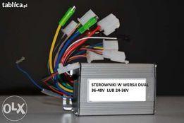 Sterownik dual do silnika rowerowego elektrycznego 3-fazowy 36-48V