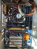 Płyta głowna asrock k8upgrade-1689+procesor,chlodzenie,ram,grafika