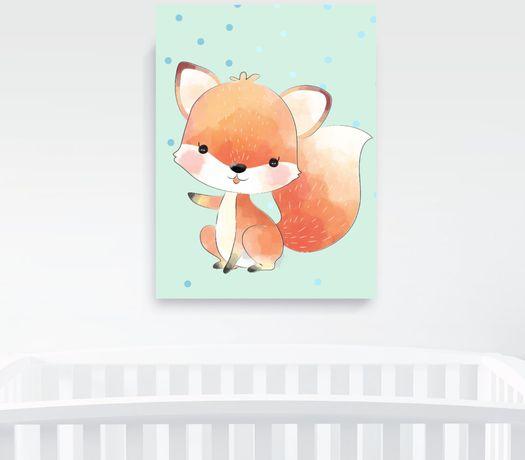 Obrazek A4 plus ramka, Baby Fox Pszczyna - image 3
