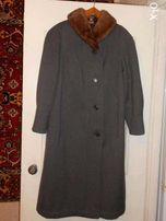Продам пальто зимнее с норкой р 52