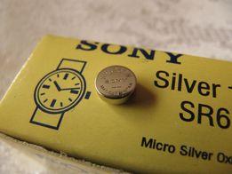 Батарейки для часов Sony SR626SW (аналог 377 или AG4)