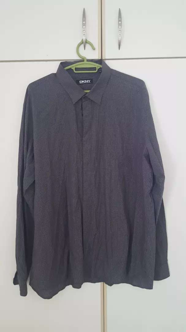 DKNY Mens Long Shirt 3XL 0