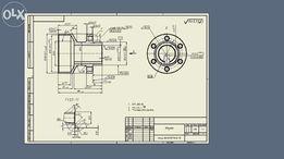 Чертежи, 3d-модели,анимация: Компас-3d, Autodesk Inventor, SolidWorks