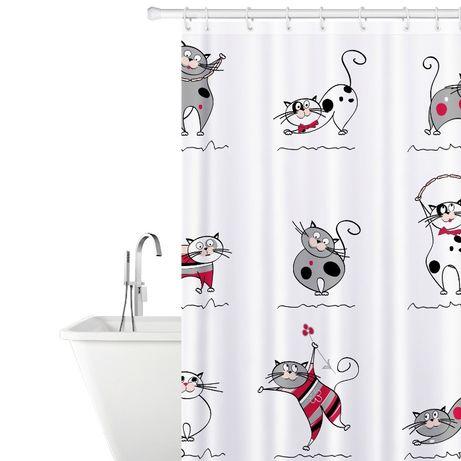 Продам штору шторку занавеску для ванной комнаты Веселые Коты Днепр - изображение 1