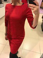 Nowa czerwona sukienka