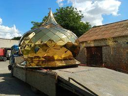 Куполи, хрести на куполи для храмів, капличок, криниць під замовлення