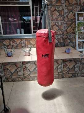 H S BOXING SACK WITH GLOVES
