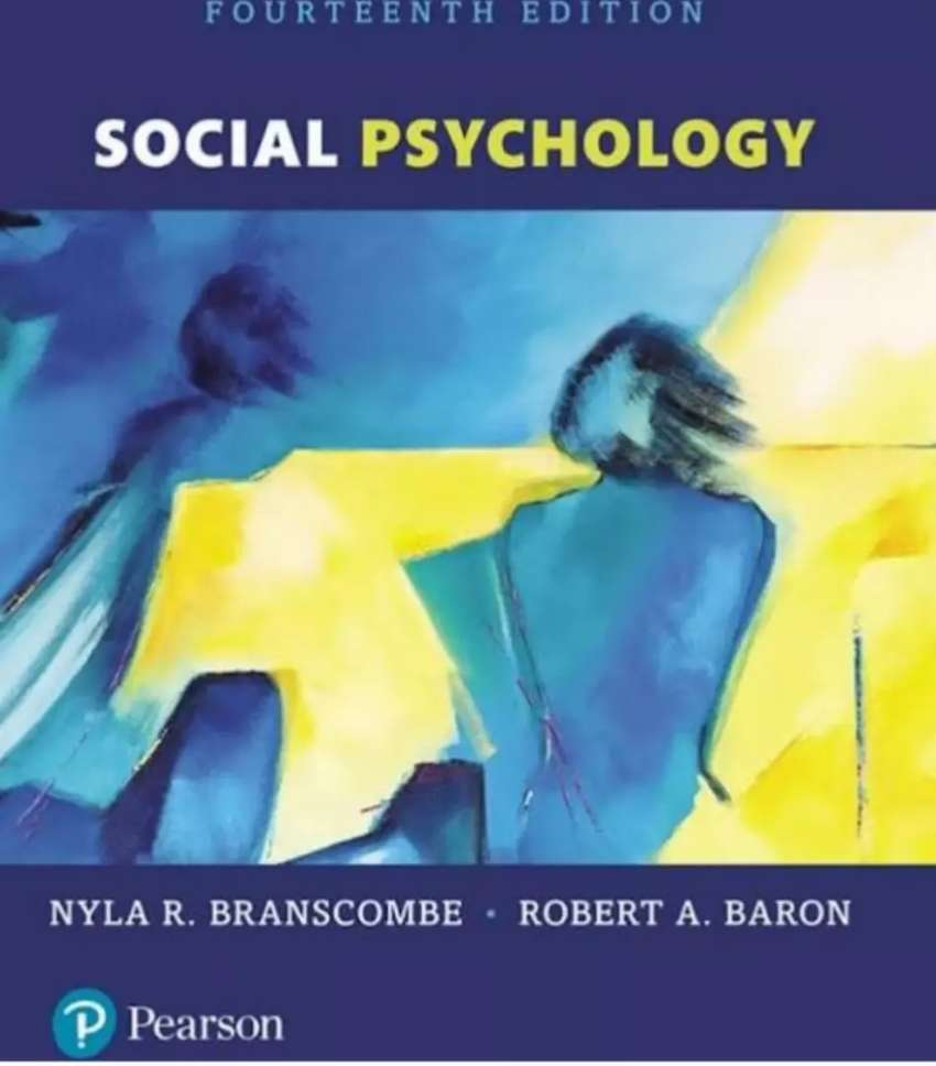 Social Psychology, Branscombe, 14th Edition